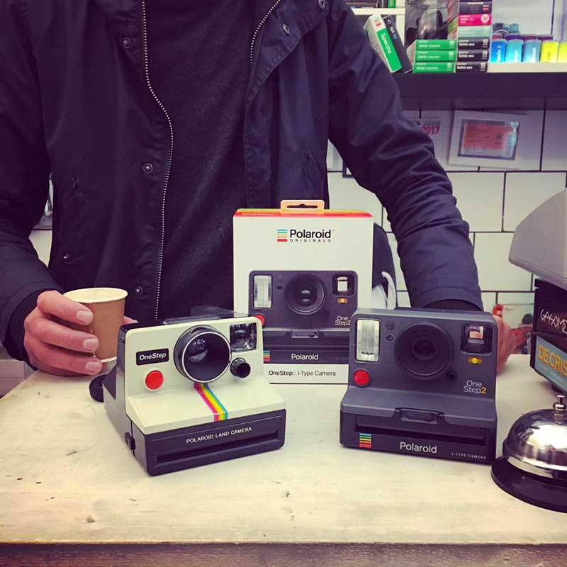 Polaroid One Step 2 da Elvis Lives Roma